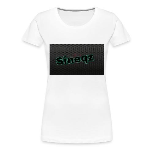 Sineqz T-Shirt - Frauen Premium T-Shirt
