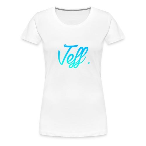 Jeff. 6/6s Hoesje - Vrouwen Premium T-shirt