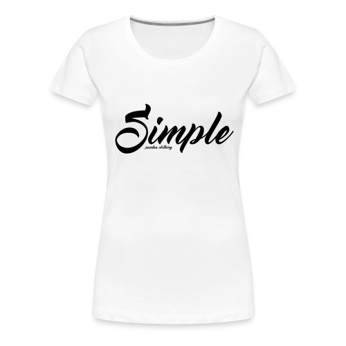 Simple: Clothing Design - Women's Premium T-Shirt