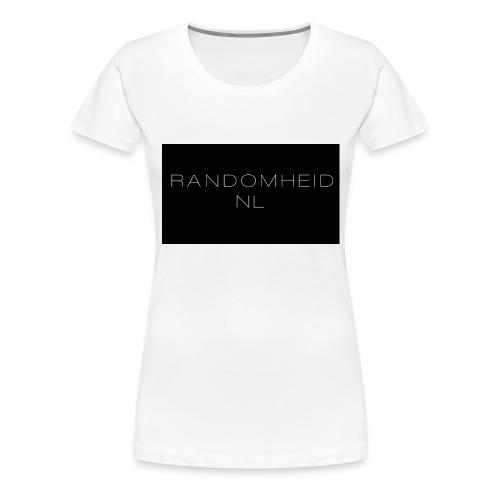 RandomheidNL knuffelbeer - Vrouwen Premium T-shirt