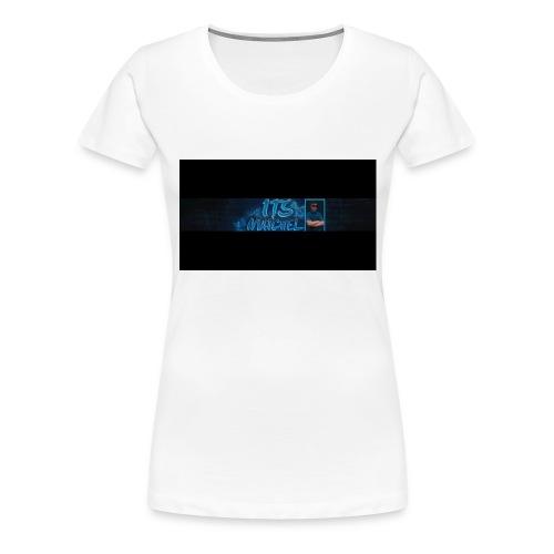 Shirt banner - Vrouwen Premium T-shirt