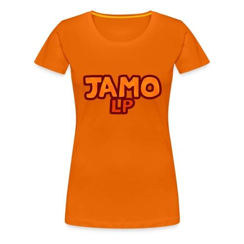 JAMOLP Logo Mug - Dame premium T-shirt