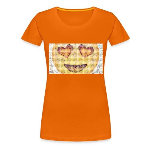 Emoij Hoesje - Vrouwen Premium T-shirt