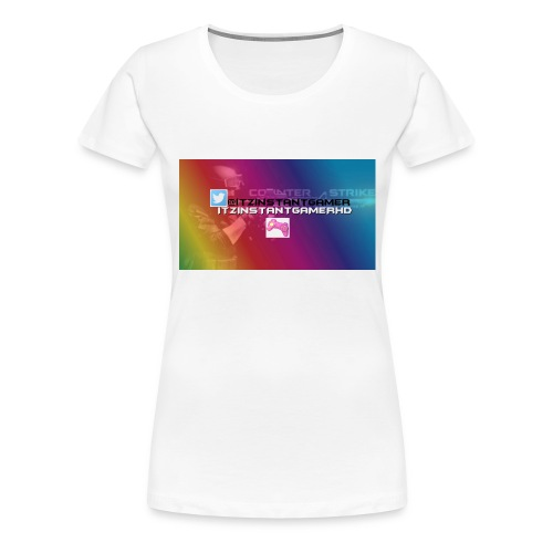 CHANNEL ART jpg - Women's Premium T-Shirt