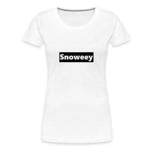 Kapuzen-Pulli! - Frauen Premium T-Shirt