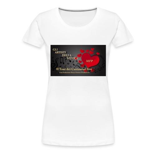 Gli_Artisti_della_Musica-iloveimg-resized - Maglietta Premium da donna