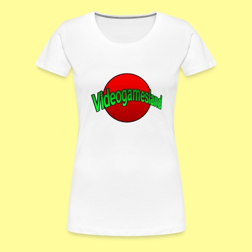 VIDEOGAMESLAND STREETWEAR - Maglietta Premium da donna