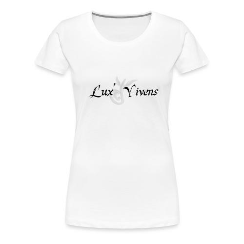 Lux' Vivens / Logo Mixte - T-shirt Premium Femme