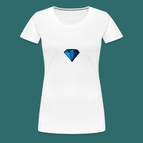 Blue Diamond - Maglietta Premium da donna