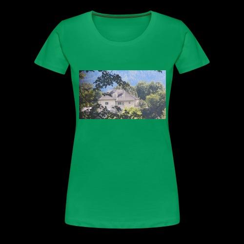 Altes Haus Vintage - Frauen Premium T-Shirt