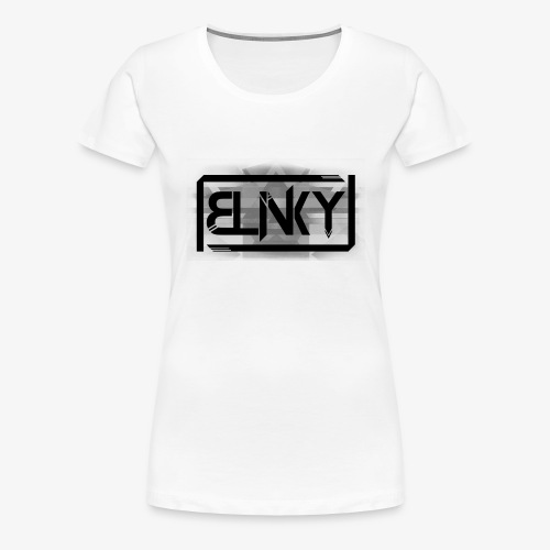 Blinky Compact Logo - Women's Premium T-Shirt