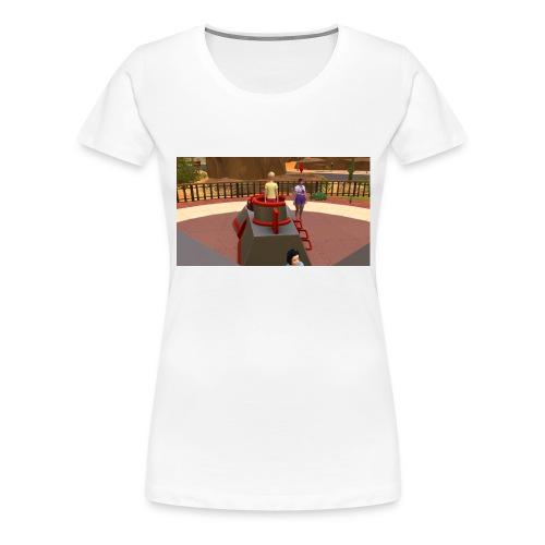 de leuken spilmacheen - Vrouwen Premium T-shirt