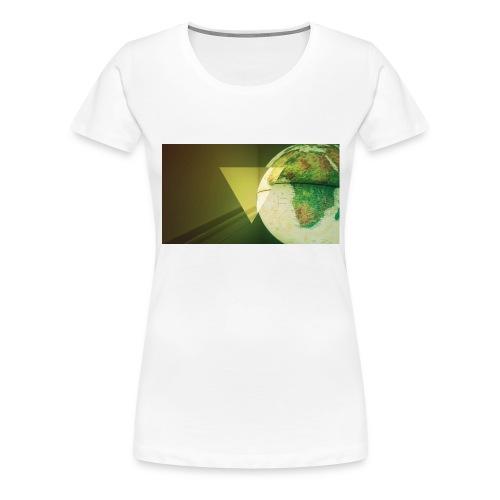 BIOMETRIC GLOBE - Women's Premium T-Shirt