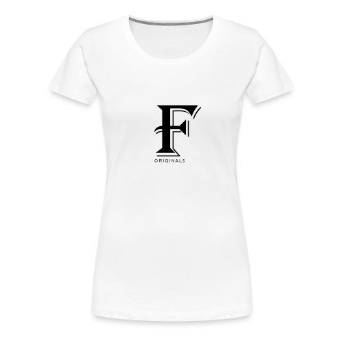 FOriginalsNoBack png - T-shirt Premium Femme