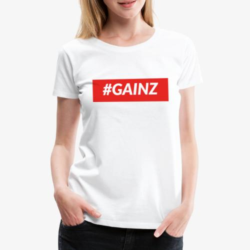 Gainz by Simon Mathis - Frauen Premium T-Shirt