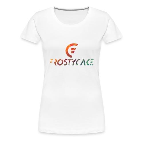 Schriftzug Logo bunt 1 - Frauen Premium T-Shirt