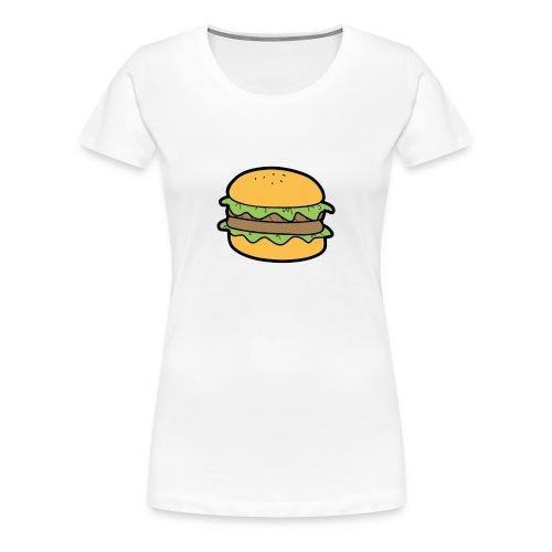 BurgerShirt - T-shirt Premium Femme