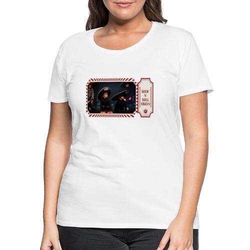 Coco Dia Muertos N004 - R - T-shirt Premium Femme
