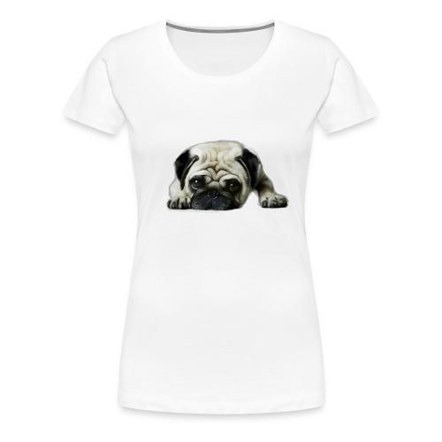 Cute pugs - Camiseta premium mujer
