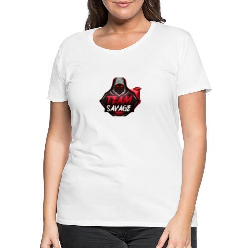 Team Savage Logo - Premium T-skjorte for kvinner