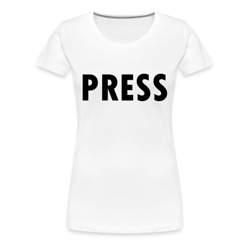 press - Frauen Premium T-Shirt