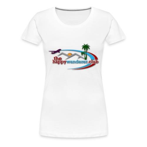 The Happy Wanderer Club - Women's Premium T-Shirt