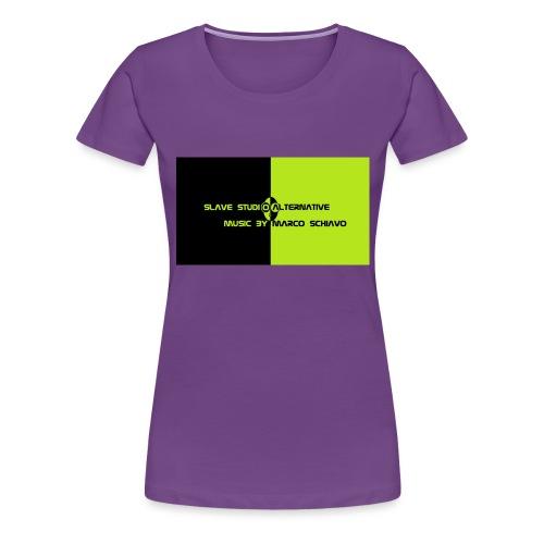 Channel_Art_Template_ufo_youtube_pt_4 - Maglietta Premium da donna