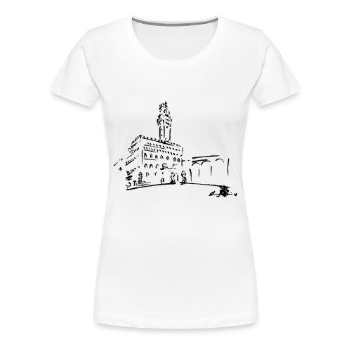 FIRENZE, PALAZZO VECCHIO, PIAZZA DELLA SIGNORIA - Maglietta Premium da donna
