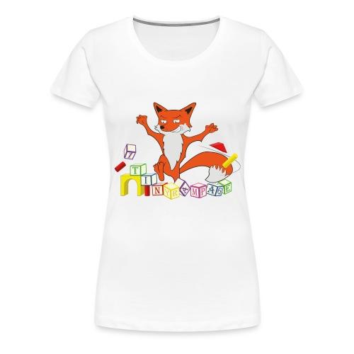 Tiny Rampage - Vrouwen Premium T-shirt