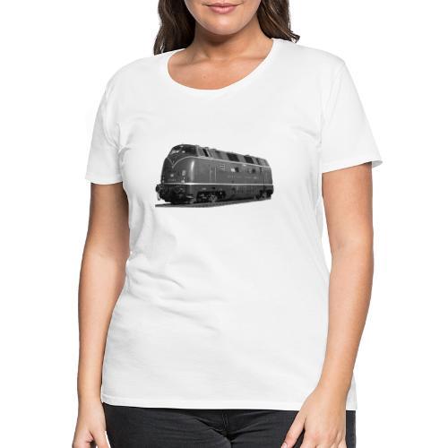 V 200 Diesel Lokomotive Deutsche Bundesbahn - Frauen Premium T-Shirt