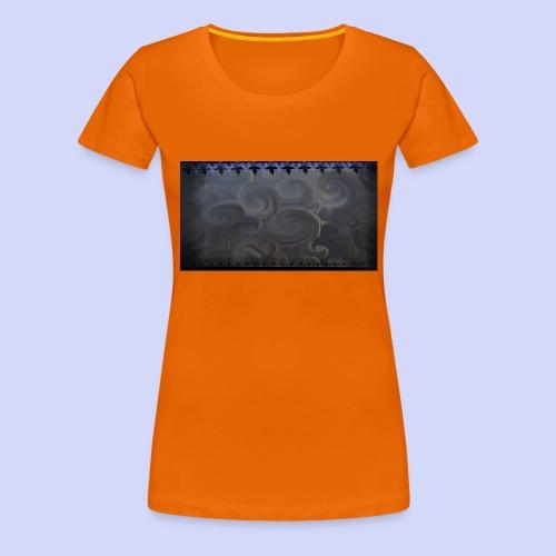 Dark mornings - Night cup - Dame premium T-shirt