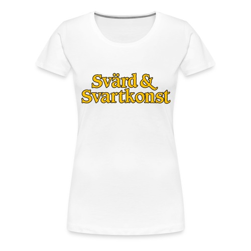 SoSlogo_LINE - Premium-T-shirt dam