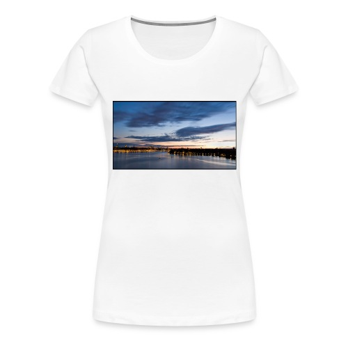 Sommarnatt1 - Premium-T-shirt dam
