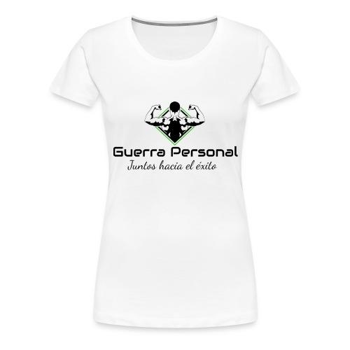 Guerra Personal - Camiseta premium mujer