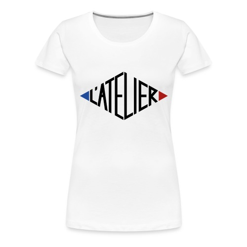 Logo L atelier - T-shirt Premium Femme