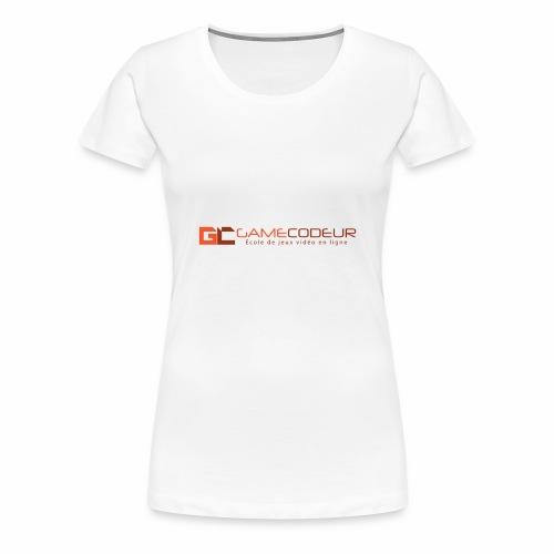 GAMECODEUR LOGO SEUL - T-shirt Premium Femme