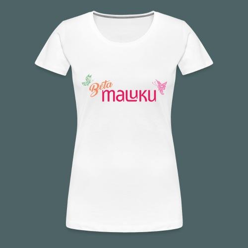 Beta Maluku - Vrouwen Premium T-shirt