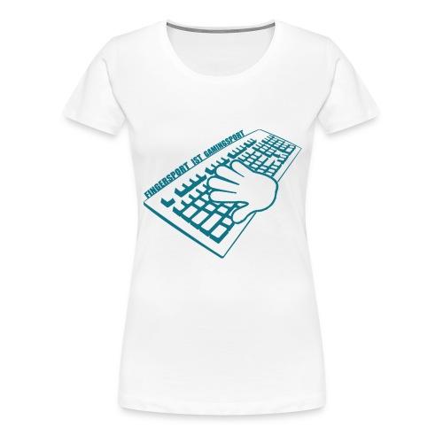 GamingSport T-Shirt - Frauen Premium T-Shirt