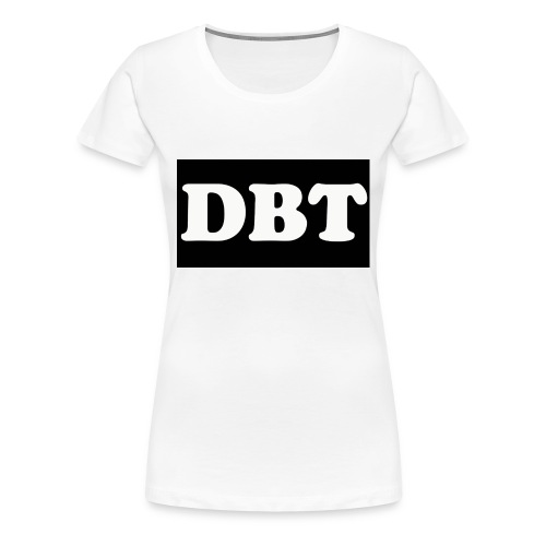 DBT Logo - Frauen Premium T-Shirt