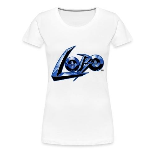 Logo di Lobo svg - Camiseta premium mujer