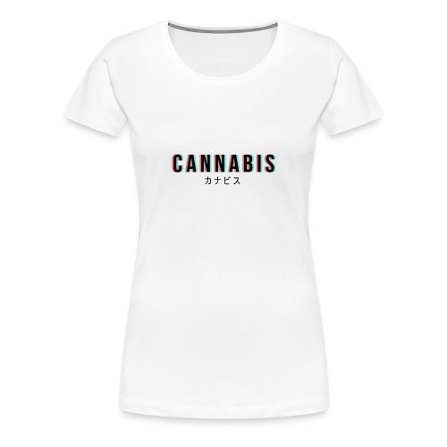 CANNABIS - Koszulka damska Premium