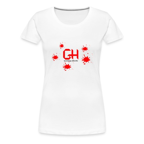 GamingHorde (black letters) - Women's Premium T-Shirt