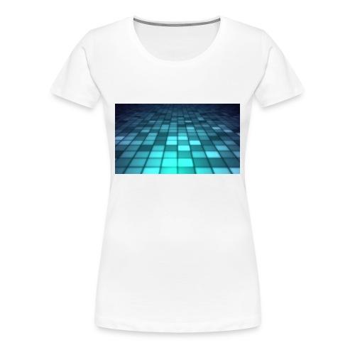 blue cubs - Dame premium T-shirt