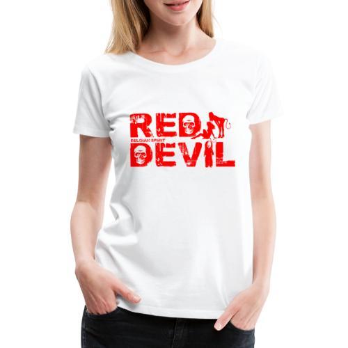 BELGIAN-RED-DEVIL - T-shirt Premium Femme