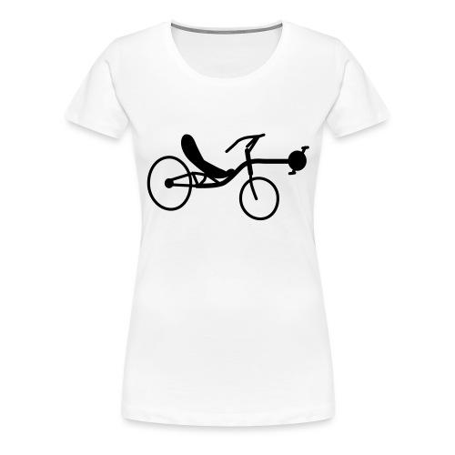 Liegerad Streetmachine 2 - Frauen Premium T-Shirt