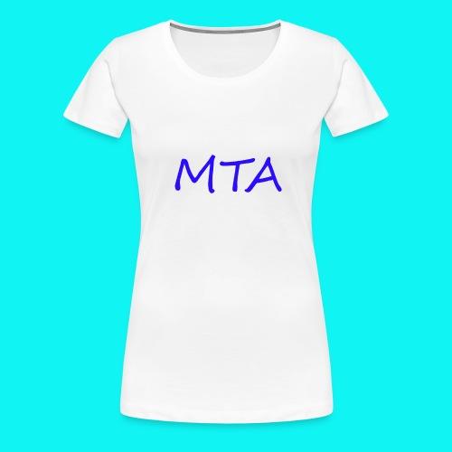 #MTA t-shirts - Dame premium T-shirt
