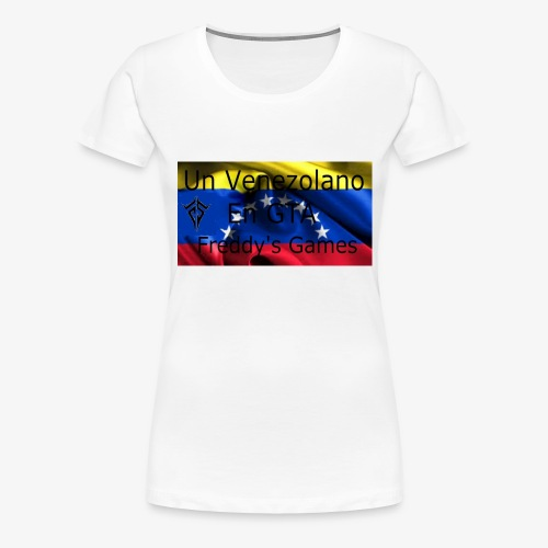 Alfombra De Mouse Un Venezolano En GTA - Camiseta premium mujer