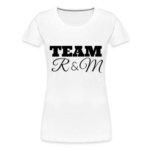 Snapback team r&m - Women's Premium T-Shirt