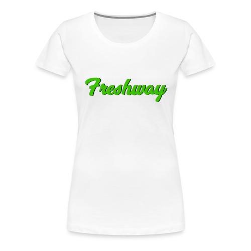 freshway big - Premium-T-shirt dam