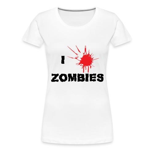 I Zombies - T-shirt Premium Femme
